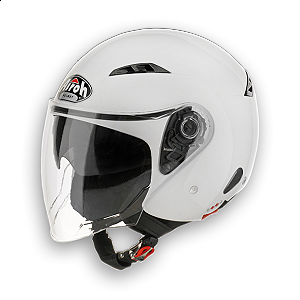 Casco jet Airoh City One blanco