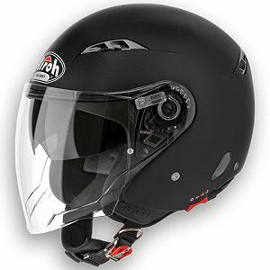 Casco jet Airoh City One negro