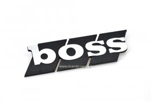 "Placa ""Boss"" para panel lateral piaggio Boss"